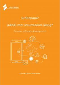 WBSO subsidie voor Scrumteams - Whitepaper